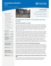 Humanitarian situation in Syria get...
