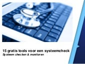 15 gratis tools om je systeem te checken