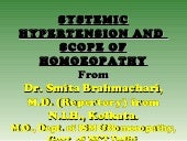 Systemic hypertension and scope of ...