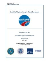 FedRAMP System Security Plan (Templ...