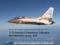 T 50 avionics embedded software development using java