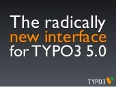 The radically new interface for TYP...