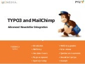 TYPO3 and MailChimp : Advanced news...
