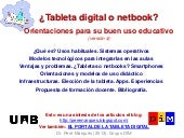 ¿Tableta digital o netbook?