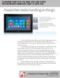 Comparing tablets for the home: Intel Core i5 vPro processor-based Windows 8 tablet vs. Apple iPad