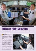 Tablets in Flight Operations