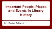 Tabscott history of library 2