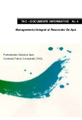 TAC Background Paper No 4 in Romanian