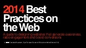 2014 Best Practices on your Website