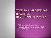 Tafesw hairdressing plc_update_april2015
