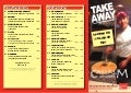 Castrum Spiseri Takeaway Menu 1