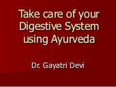 Take Care Of Your Digestive System ...