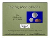 Taking Medications Pills