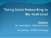 Taking social networking to the nex...