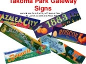 Takoma signs creation web