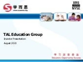 TAL Education Group video