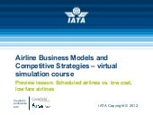 Airline Business Models and Competi...
