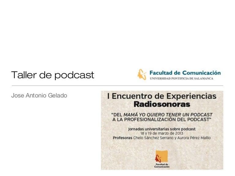 Taller podcast-upsa2013