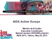 Presentation at Conference HIV in E...