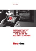 Interactive TV Advertising – The Shift to Second Screens