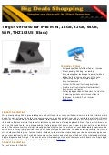 Targus versavu for i pad mini, 16gb, 32gb, 64gb, wifi, thz183us (black)