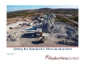 Presentation: Taseko Mines (April 2...