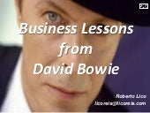 Business Lessons from David Bowie