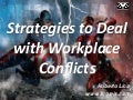 Strategies to Deal with Workplace Conflicts