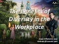 The Benefits of Diversity in the Workplace