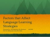 Task 7 - Factors that Affect Langua...