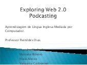 Web 2.0 and Podcast - Group2 UFMG -...