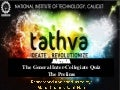 Tathva 2012 - Intercollegiate Quiz at NIT Calicut - Prelims
