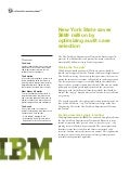 Tax Compliance Systems: New York State Saves $889 by Optimizing Fraud Detection