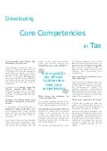 Developing Core Competencies in Tax  - Larry Martin, AOL, Inc.
