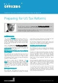 Preparing for US Tax Reforms - Daniel M. Berman, Boston University School of Law