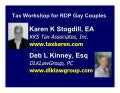 Seminar: NEW Community Property Tax Rules for GLBT Domestic Partners in CA/NV/WA