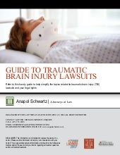 Traumatic Brain Injury Lawsuits