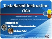 Task-Based Instruction (TBI)