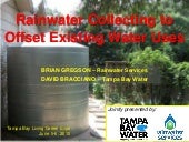Rainwater Collecting to Offset Exis...