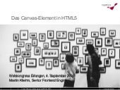Das Canvas-Element in HTML5