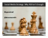 Social Media Strategy: Why ROI Isn'...