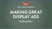 Making Great Display Ads