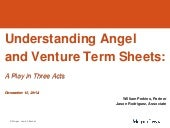 Come to Terms with Angel & Venture Term Sheets