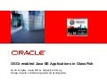 TDC 2011: OSGi-enabled Java EE Application