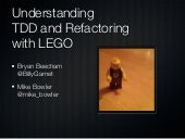 TDD and Refactoring with LEGO at Agile2013