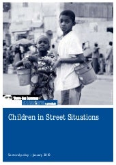 Tdh - Children in Street Situations...