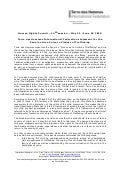 Terre des Hommes International Federation statement for the Panel on Give Voice to Victims of Trafficking - may_june_2010
