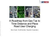 A Roadmap for Road User Charging