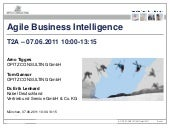 TDWI - Agile Business Intelligence ...