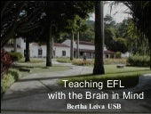 Teaching EFL with the Brain in mind